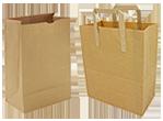 Пакет из обычной крафт-бумаги